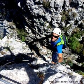 FERRATA: Foradada del Toscar en Pirineos