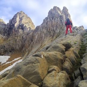 ESCALADA: Arista de los Murciélagos al Pico Aspe